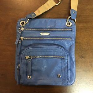 Franco Sarto Crossbody Shoulder Bag SoMany Pockets